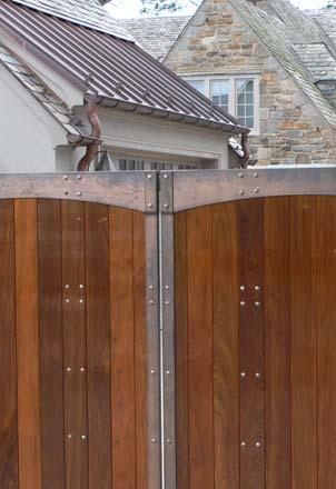 Blacksmith Custom Designed Gates Bronze Brazilian