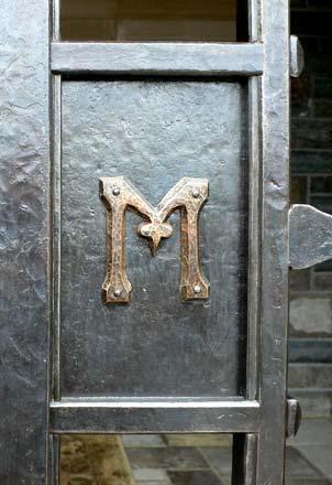 Blacksmith Custom Designed Gates Hand Forged Steel