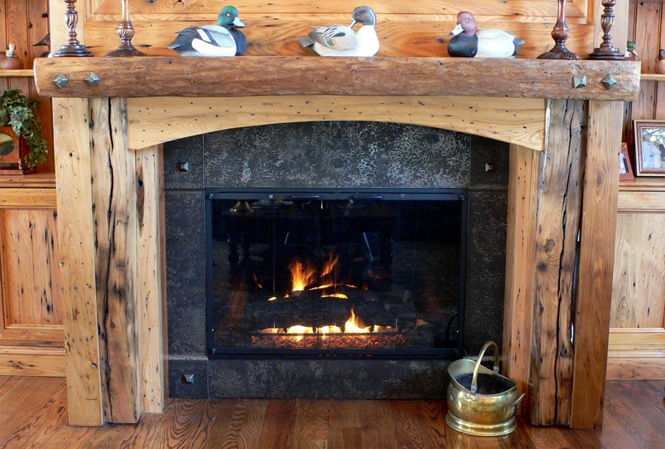Fireplace Design metal fireplace : Fireplace and Hearth : Hand Forged Custom Metalwork : Mandala ...